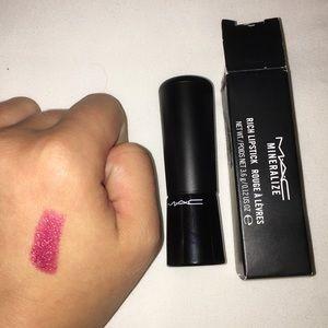 "MAC Mineralize Rich Lipstick in ""Lush Life"""